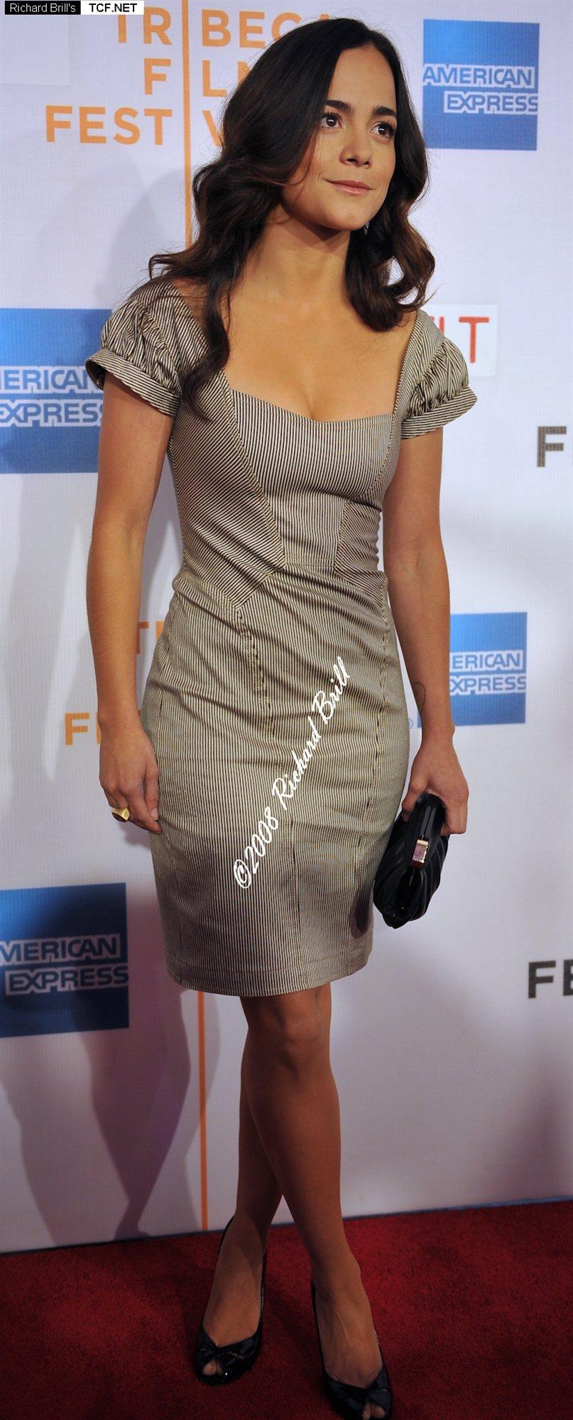 Alice Braga leaked wallpapers