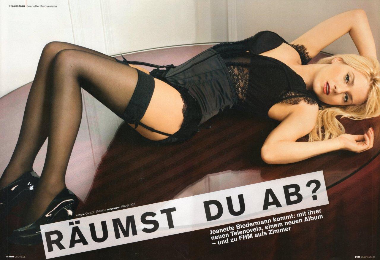 Jeanette Biedermann leaked wallpapers