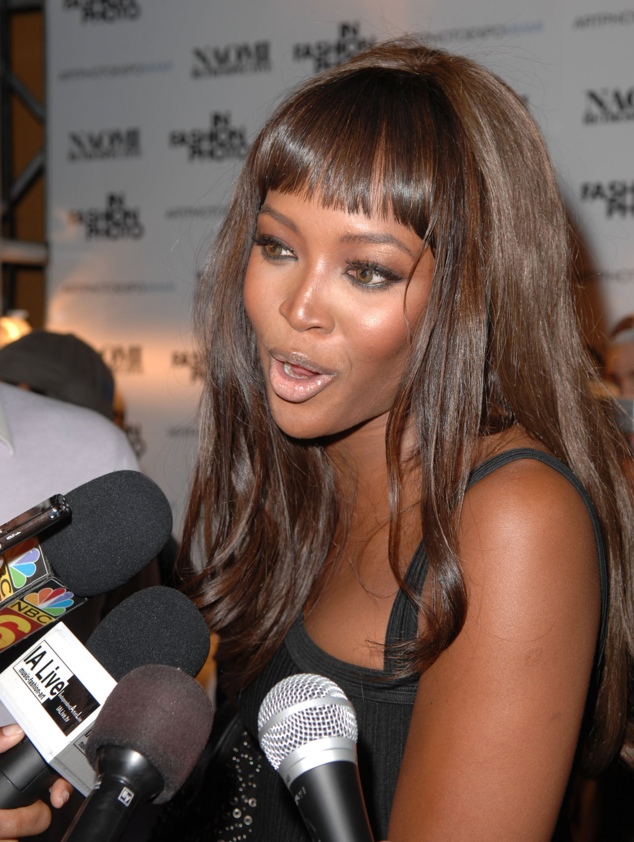 Naomi Campbell leaked wallpapers